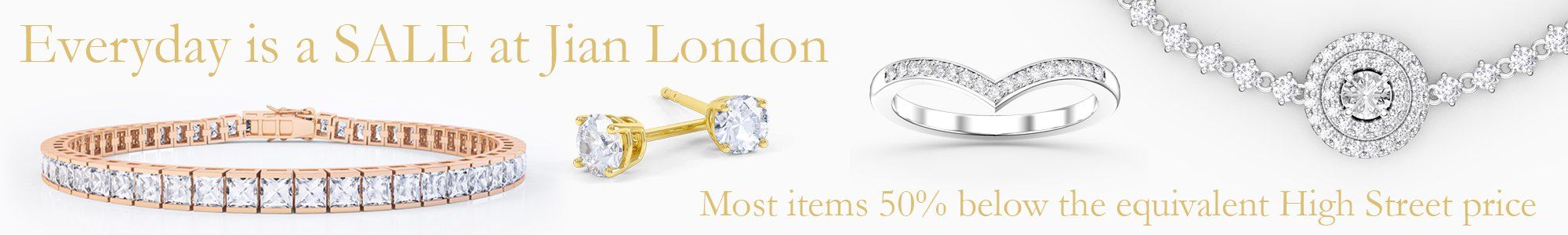 Everyday is a SALE at Jian London - Most items 50% below High Street prices