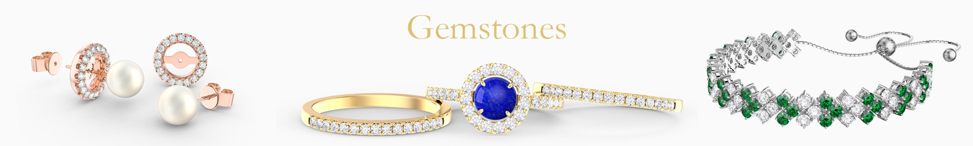 Gemstone Jewellery - from precious gemstones to Diamonds. From Silver to 18ct Gold.
