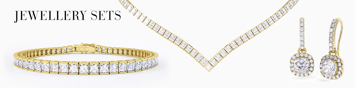 Jewellery-Sets for everyone - from precious gemstones to Diamonds. From Silver to 18ct Gold.