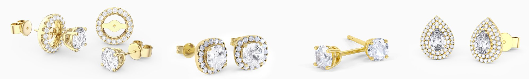 Shop 18ct Gold Earrings by Jian London. Buy direct and save from our wide selection of 18ct Gold Earrings at the Jian London jewellery Store. Free UK Delivery