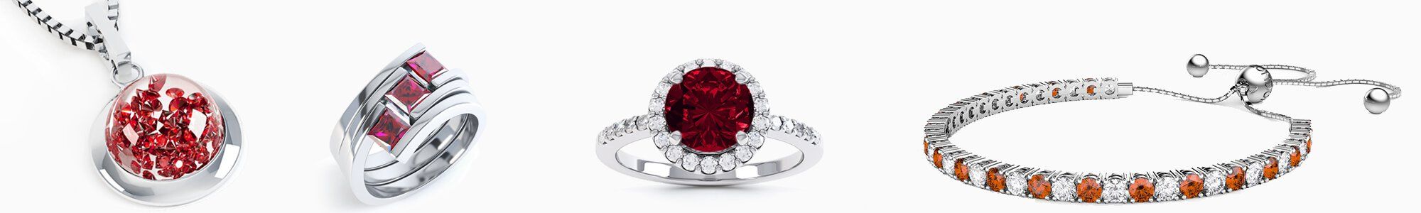 Garnet Jewellery - Wide Selection of Topaz Earrings, Pendants, Engagement Rings, Bracelets and Necklaces