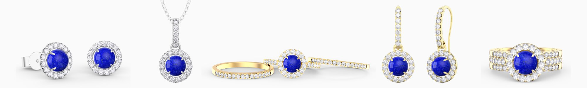 Lapis Lazuli Jewellery - Wide Selection of Lapis Lazuli Earrings, Pendants, Engagement Rings, Bracelets and Necklaces